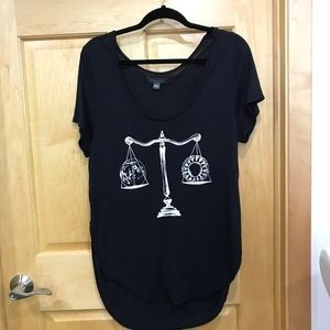 Kendall and Kylie tank top blouse size small